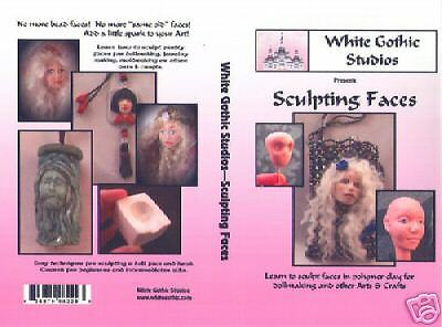 DVD - 90 Mins - Sculpting Doll Faces- Learn OOAK doll sculpting- Easy techniques