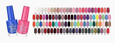Golden Rose Color Expert Nail Lacquer With Extra Wide Brush Numbers 62-117