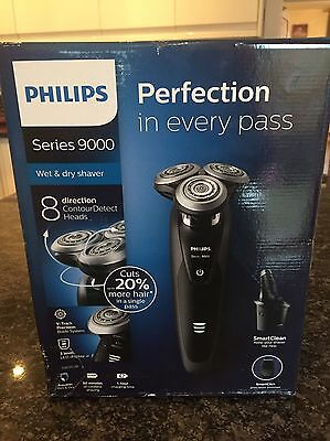 Philips Shaver Series 9000, Wet And Dry Shaver With SmartClean S9031/26