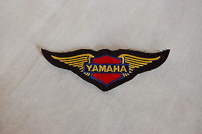 Yamaha Embroidered Wings Cloth Patch Badge