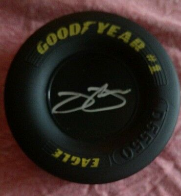 Jimmie Johnson Signed/Autograph Mini Goodyear Rubber Tire