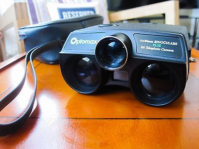 Optomax Binocular Camera. Collectable.