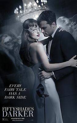FIFTY SHADES DARKER_FAIRY TALES HAVE DARK SIDES 11x17 MINI MOVIE POSTER