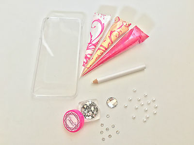 DIY Henna Art Phone Case Kit ✔EVERYTHING YOU NEED ✔EASY TO USE PAINT CONES