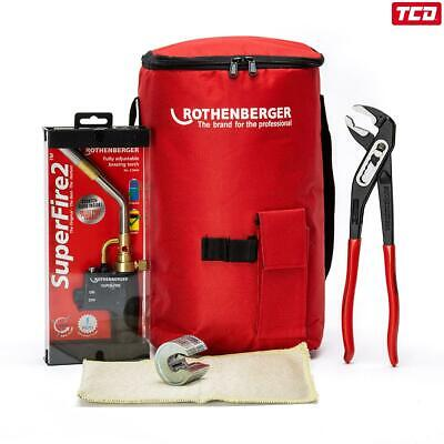 Rothenberger Hot Bag - Starter Kit - Super Fire 2, PipeSlice, SPK Pliers