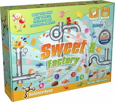 Science4You Sweet Factory - Make Your Own Sweets - Educational Game