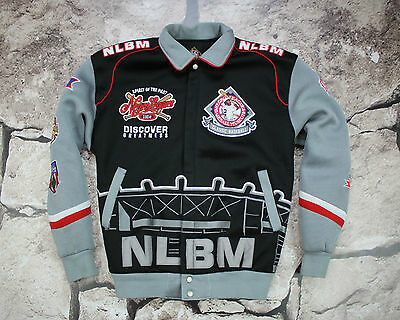 Big Boy Head gear NLBM Negro League Classic Baseball Jacket Size 2XL