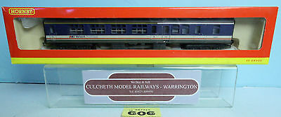 Hornby 'oo' R4154 Br Mk2A 1St Class Brake Coach No.17057 *weathered* Boxed #606Y