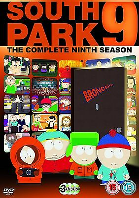 SOUTH PARK Complete Series 9 DVD All Episode Ninth Season Original UK Rel R2 NEW