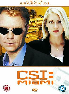 CSI MIAMI COMPLETE SERIES 1 DVD C.S.I. First 1st Season One Original UK Release