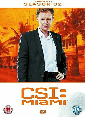 CSI MIAMI COMPLETE SERIES 2 DVD All Episdoes C.S.I. Second Season Original UK R2