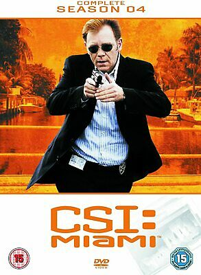 CSI MIAMI COMPLETE SERIES 4 DVD All Episdoes C.S.I. Fourth Season Original UK R2