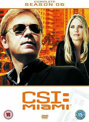 CSI MIAMI COMPLETE SERIES 6 DVD All Episdoes C.S.I. Sixth Season Original UK R2