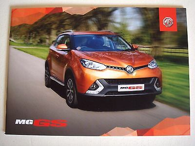 MG . The MG GS . June 2016 Sales Brochure