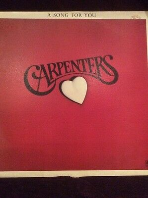 The Carpenters - A Song For You Vinyl Album