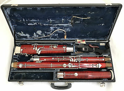 Antique Historical German Bassoon probably HECKEL BIEBRICH - Complete Restored