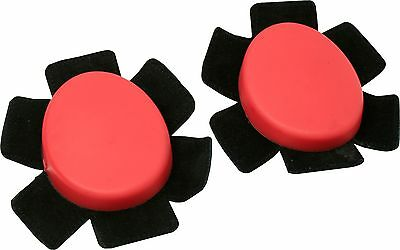 Motopart Universal Knee Slider Set Red Motorcycle Race Sliders