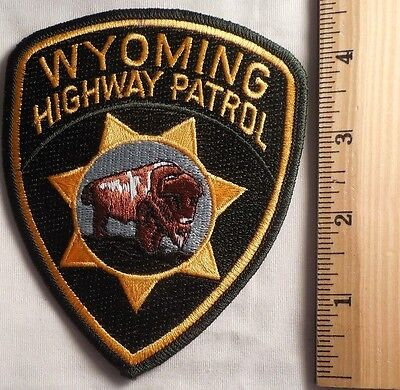Wyoming Highway Patrol Patch (Highway Patrol, Sheriff, Ems)