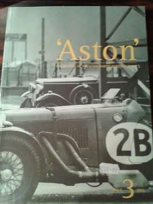 ASTON issue 3 2001 NEW / The Journal of the Aston Martin Heritage