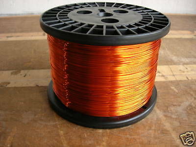 AWG 20 Copper Magnet Wire H200C High Temp (10 lbs)