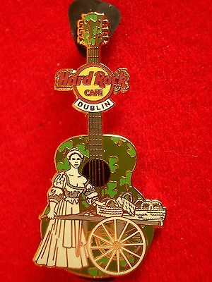 HRC Hard Rock Cafe Dublin Molly Malone Statue Guitar 2014 Guitar Pick Holo