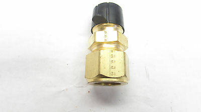 """Parker CPI Brass Tube to Male Pipe Connectors 5/8"""" Tube 1/2"""" Pipe 10-8 FBZ-B"""