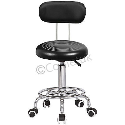 Beauty Salon Massage Stool Hairdressing Chair Tattoo Therapy Removeable Backrest