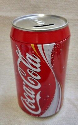 "The Tin Box Company Coca-Cola Can Bank 8"" Tall 16094"
