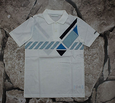 vintage ADIDAS Ivan Lendl _ POLO SHIRT _ 164 __NEW IN BAG _ WEST GERMANY