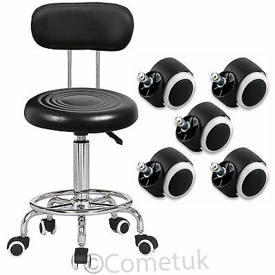 Beauty Salon Chair Hairdressing Barber Tattoo Therapy Fashion Massage Stool UK
