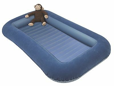 Kampa Junior Airbed Blue Camping Kids Inflatable Mattress