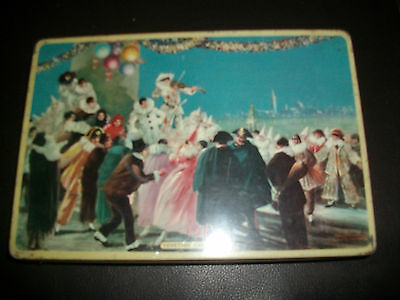 Vintage Riley Brothers Toffee Tin Venetian Carnival