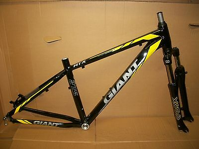 Giant Atx 27.5 Small Mountain Bike Frame, Fork, And Headset Aluminum