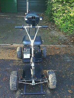 golf buggy Powaglide single seat electric golf cart PG-01 working incl charger
