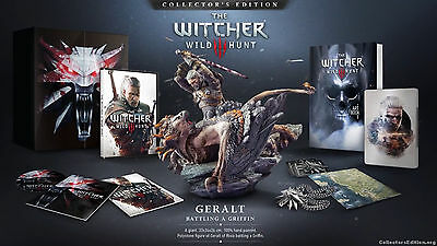 The witcher 3 edition collector´s for PC