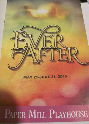 EVER AFTER Playbill CHRISTINE EBERSOLE TONY SHELDON Broadway Musical PREMIERE