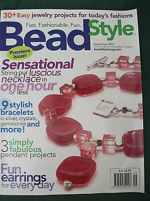 Bead Style Magazine- Lot 16- September 03