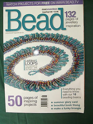 Bead Magazine- Lot 11- Issue 17 aug/sept 09