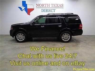 2012 Ford Expedition Limited Sport Utility 4-Door 12 Expedition Limited GPS Navi Camera Sunroof Heat Cool Leather WE FINANCE Texas