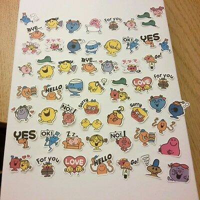 Little Mr and Miss stickers