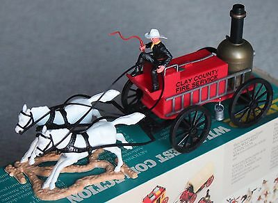 Timpo Toy Sldiers New In The Box Fire Service Wagon Cowboys Britains