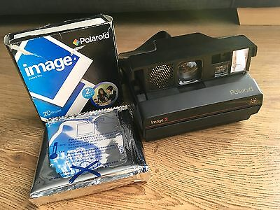 Polaroid Image 2 Instant Camera - With 1 Image Film - Tested