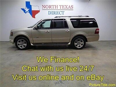 2007 Ford Expedition Limited Sport Utility 4-Door 07 Expedition EL Limited 4x4 Chrome Wheel TV DVD Heat Cool Seat We Finance Texas