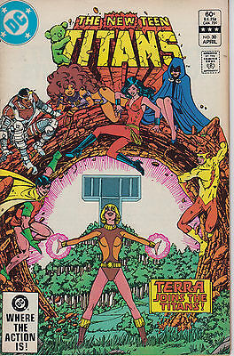 New Teen Titans 30 - 1983 - Perez - Very Fine