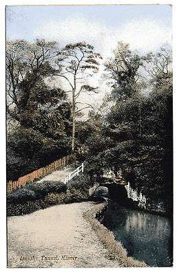 Dunsley Tunnel Kinver. Staffordshire & Worcestershire Canal. Postcard