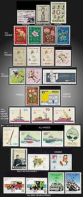 1952  to 1988  MACAU SMALL LOT MINT INCOMPLETE ISSUES NO GUM TO NEVER HINGED