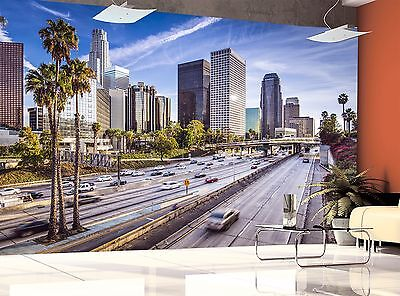 Downtown Los Angeles Wall Mural Photo Wallpaper Image Decor Giant Paper Poster