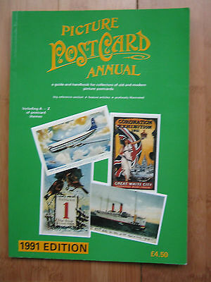 Picture Postcard Annual 1991 Top 50 Cards Of 1990 A-Z Of Themes Birmingham Ships