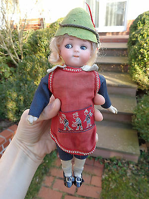 Antike Puppe Googly Armand Marseille 200 geschlossener Mund c1910 antique doll