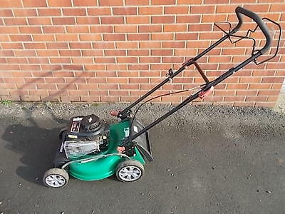 Qualcast self propelled petrol rotary mower. Mulch, collect, side discharge...